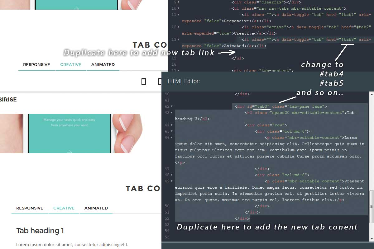 Simple Bootstrap Portfolio Theme Builder