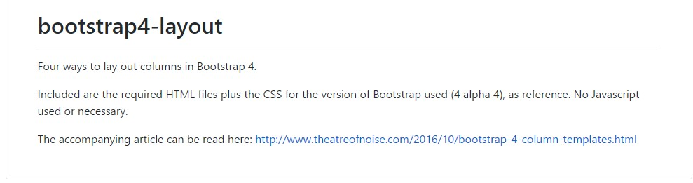Design  illustrations  located in Bootstrap 4