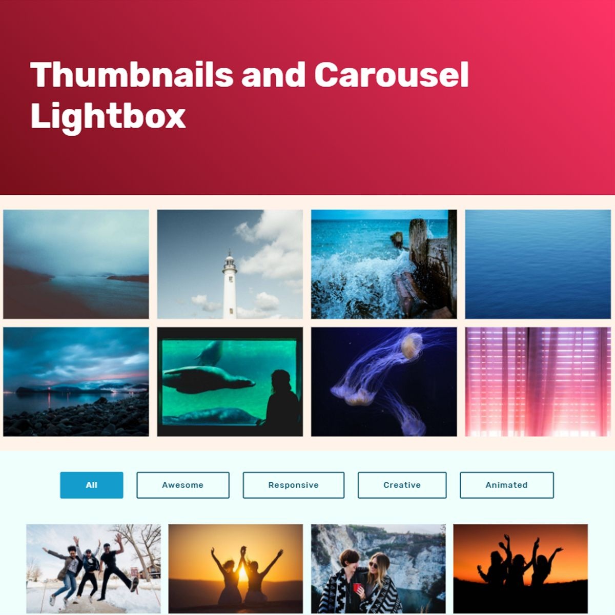 Responsive Bootstrap Photo Slideshow