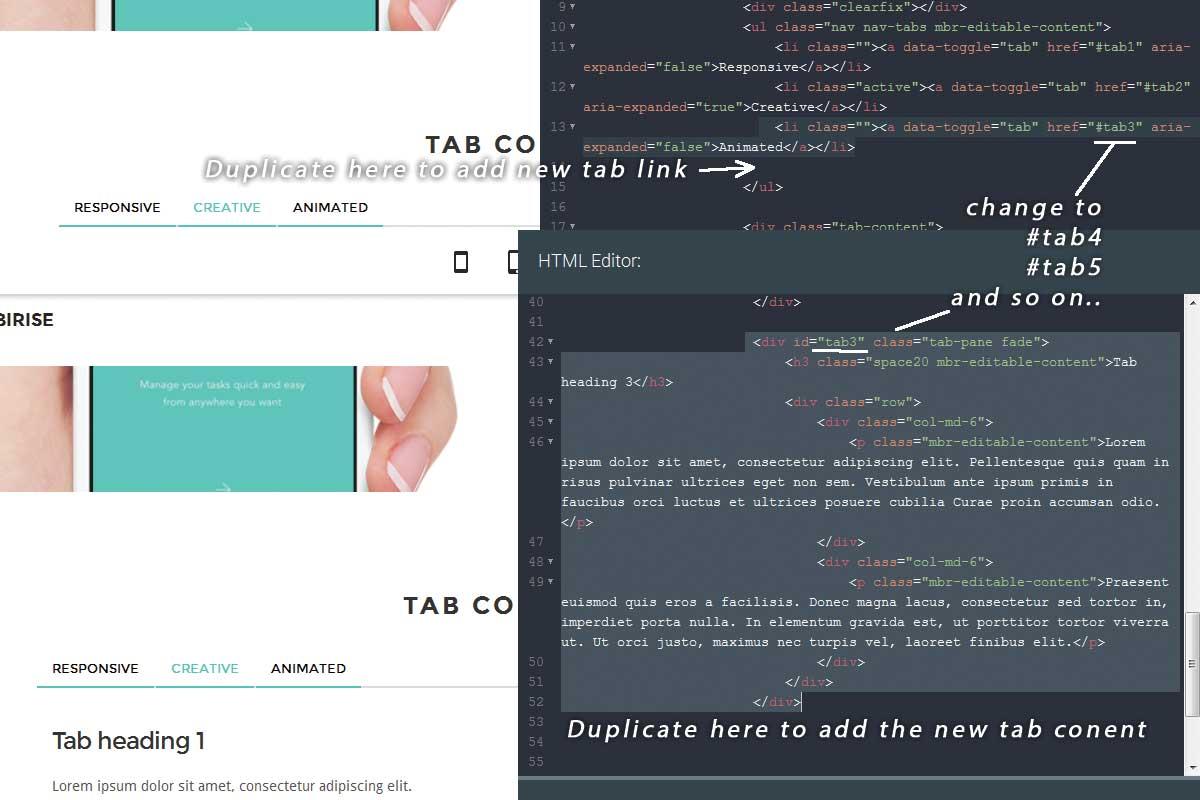 Simple Bootstrap Portfolio Theme Builder