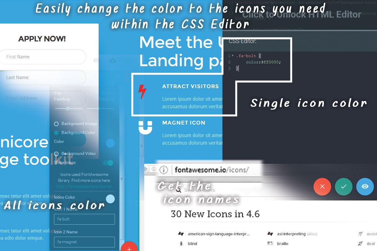 Custom Bootstrap Agency Theme Builder