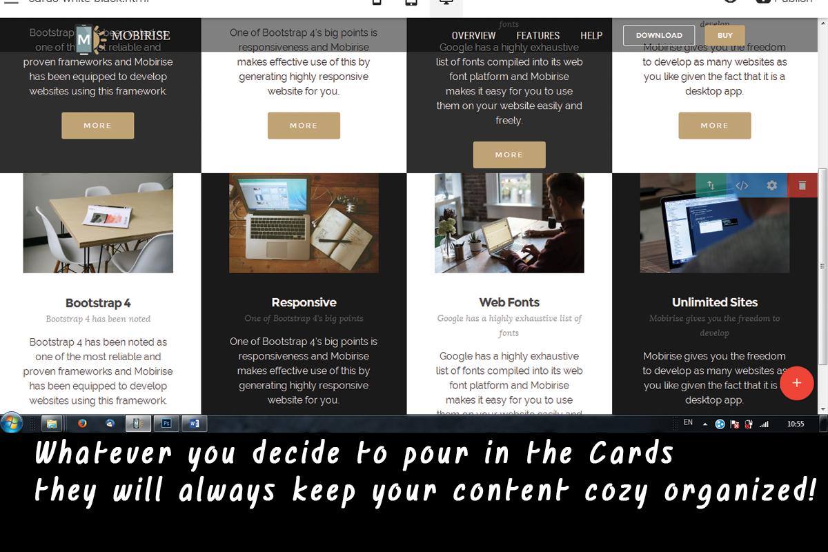 Easy Bootstrap Website Designing Software Download