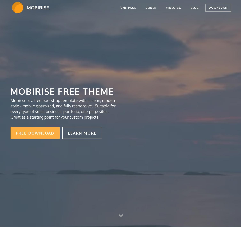 Mobile Bootstrap Portal Theme