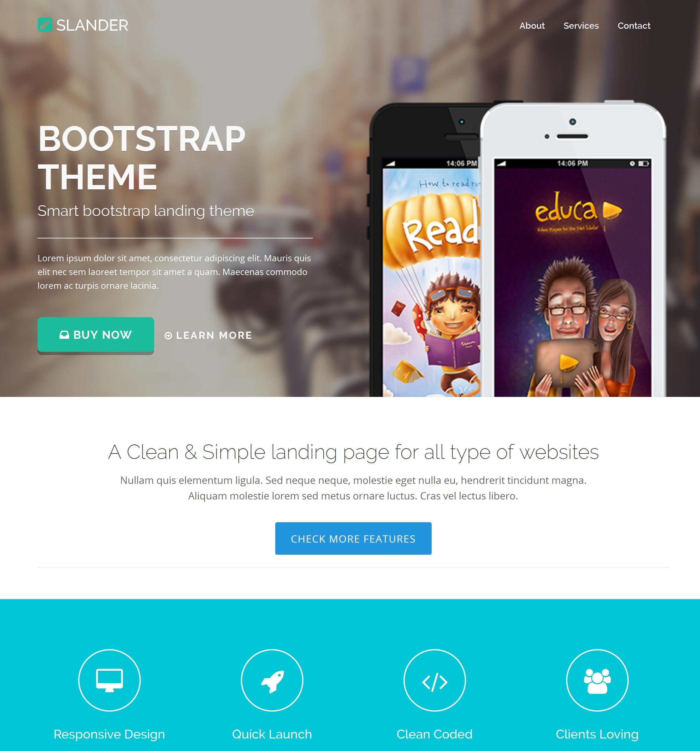 HTML Bootstrap Travel Theme