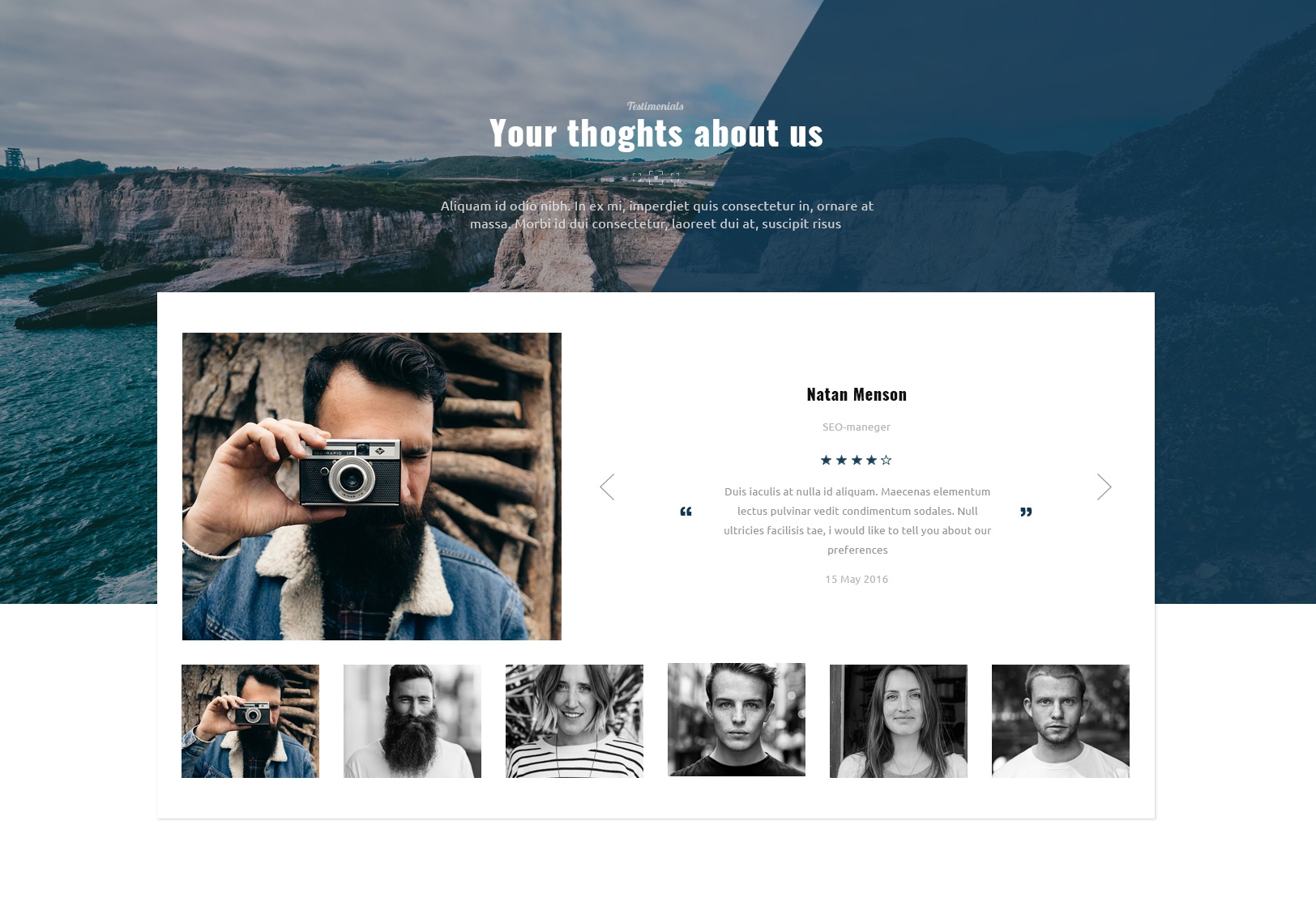 Mobile Bootstrap Travel Theme