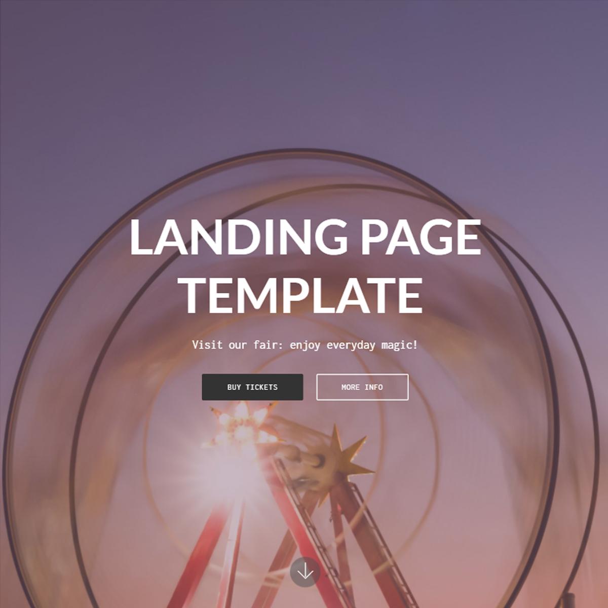 CSS3 Bootstrap Landing Templates