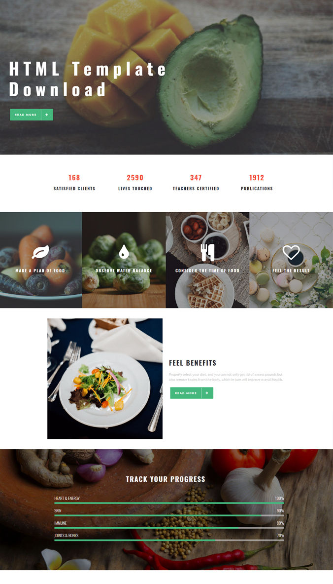 About Us Template for Website